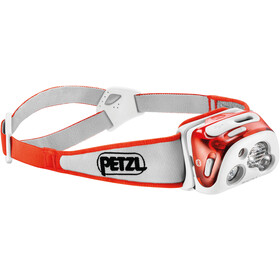 Petzl Reactik+ Linterna frontal, coral-red